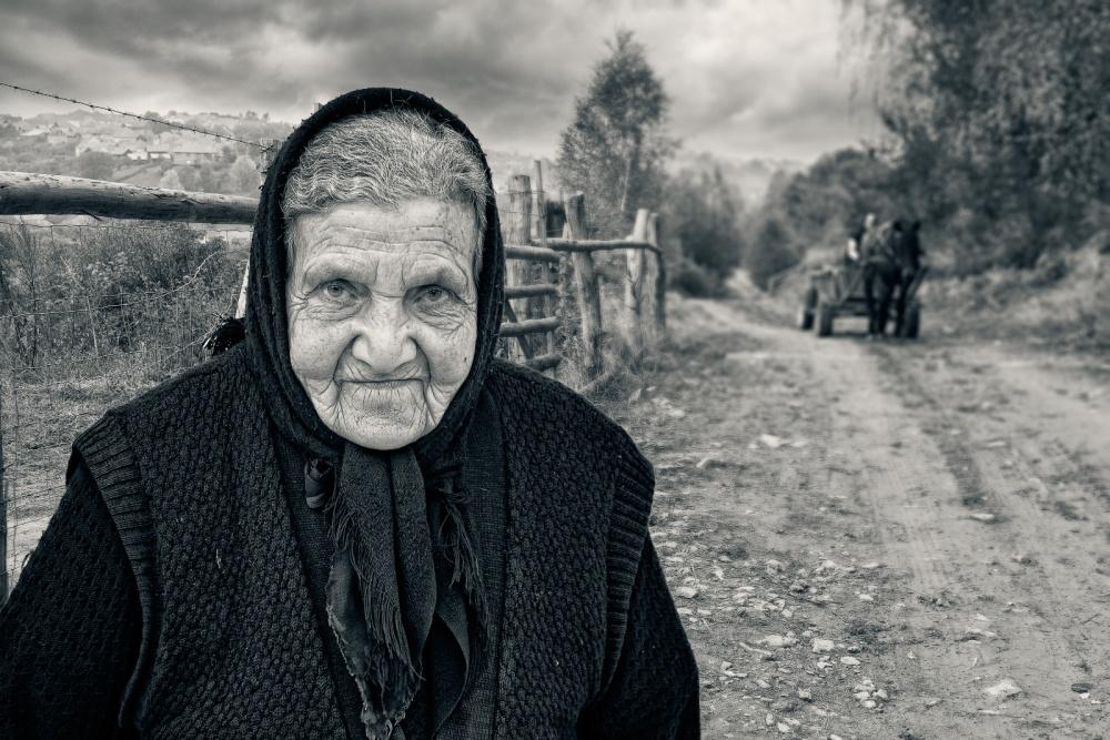 A piece of fine art art photography titled Rural Portrait by Jose Beut
