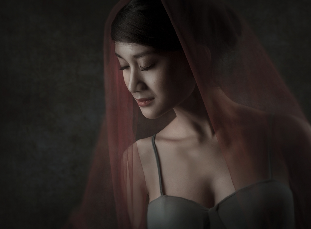 A piece of fine art art photography titled Ananda Putri by Sebastian Kisworo