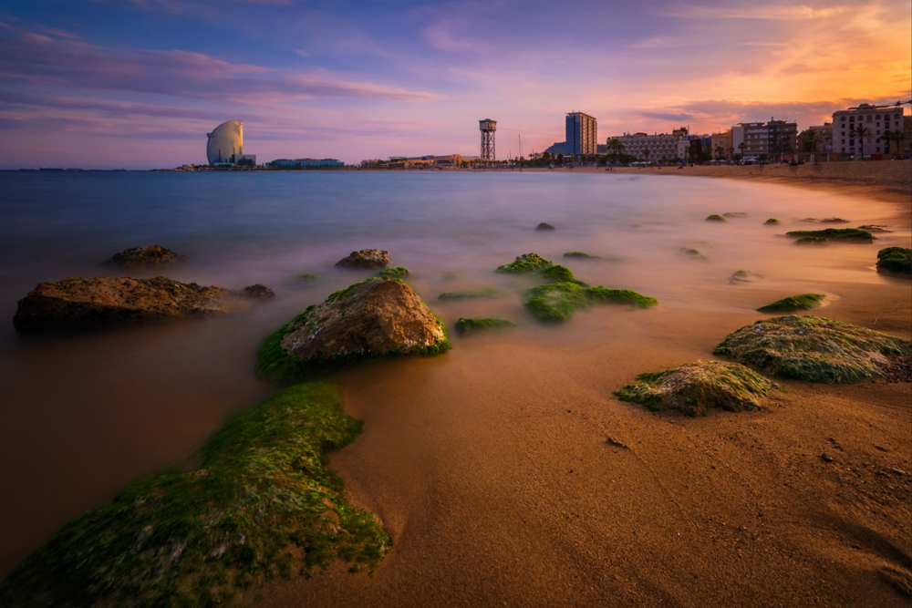 Barcelona by the sea