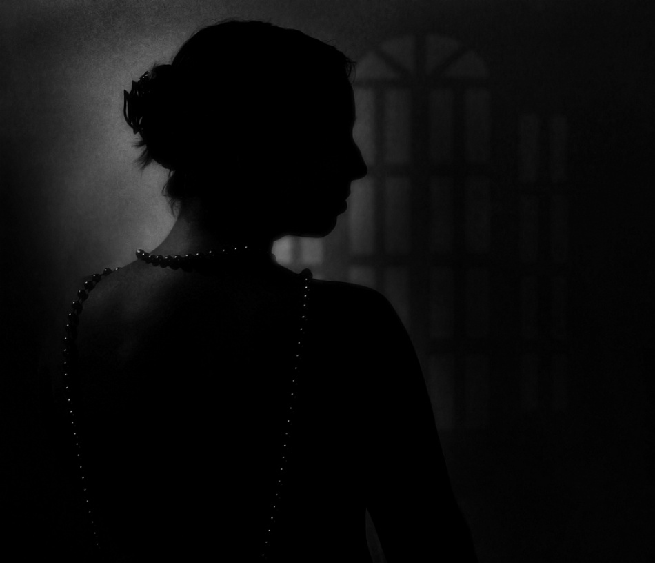 A piece of fine art art photography titled Silhouet by aleci