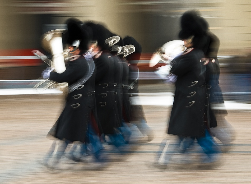 A piece of fine art art photography titled The Royal Guard by Soeren Friberg