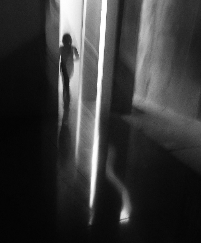A piece of fine art art photography titled Exit by kafka
