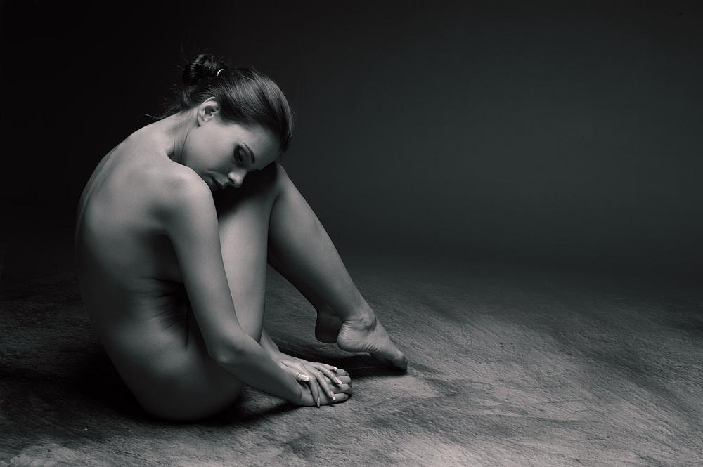 A piece of fine art art photography titled Alexksa XI by Dieter Plogmann