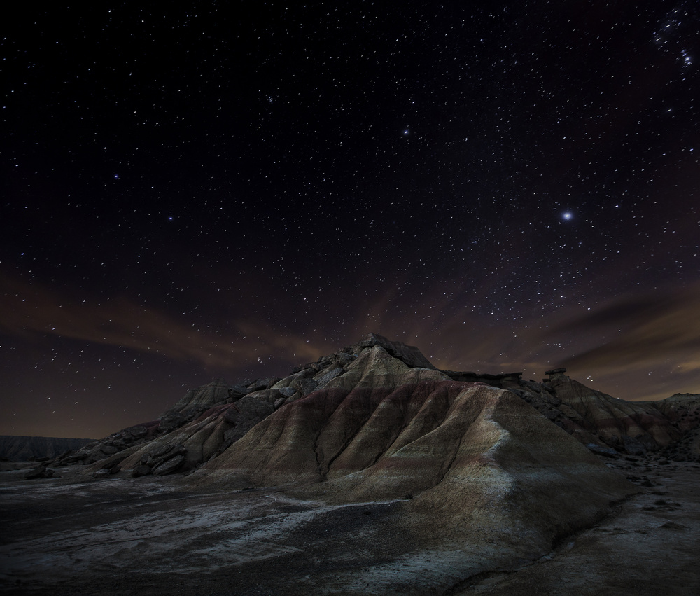 A piece of fine art art photography titled Bardenas by Martin Zalba