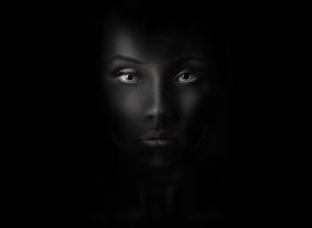A piece of fine art art photography titled Lady of the Shadows by Konstantin Pilipchuk