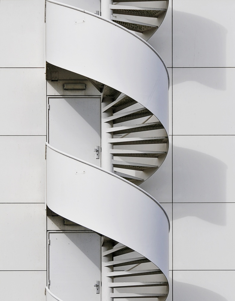 A piece of fine art art photography titled Fire Escape by Henk van Maastricht