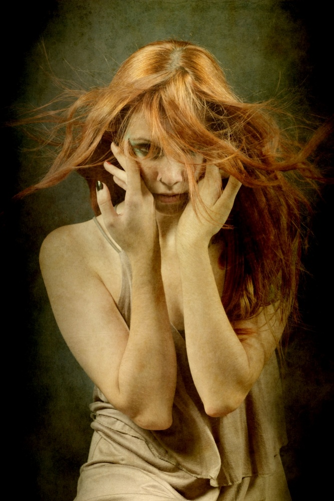 A piece of fine art art photography titled Eve by Olga Mest