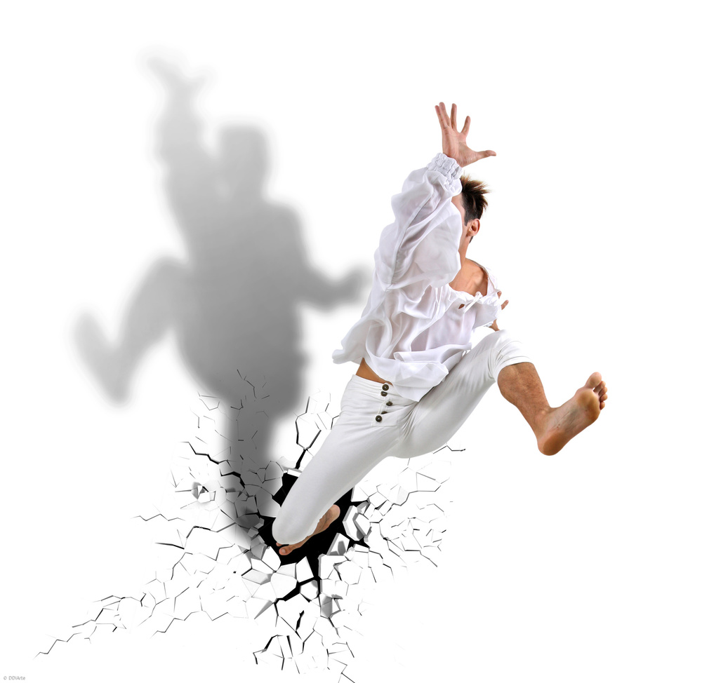A piece of fine art art photography titled Jump and Dance by DDiArte