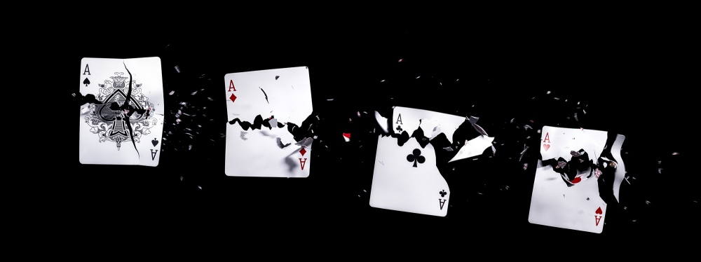 A piece of fine art art photography titled Ace by Markus Reugels