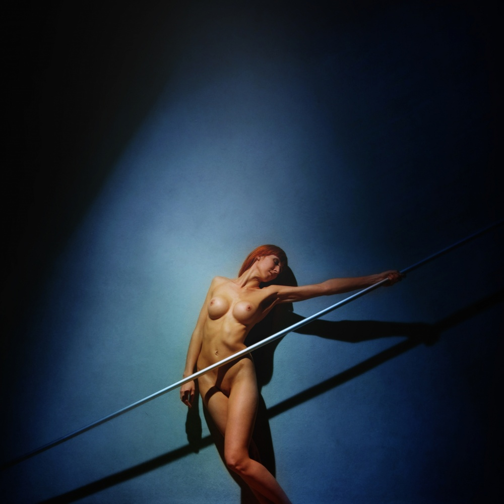 A piece of fine art art photography titled Pole by Yaroslav Vasiliev-Apostol