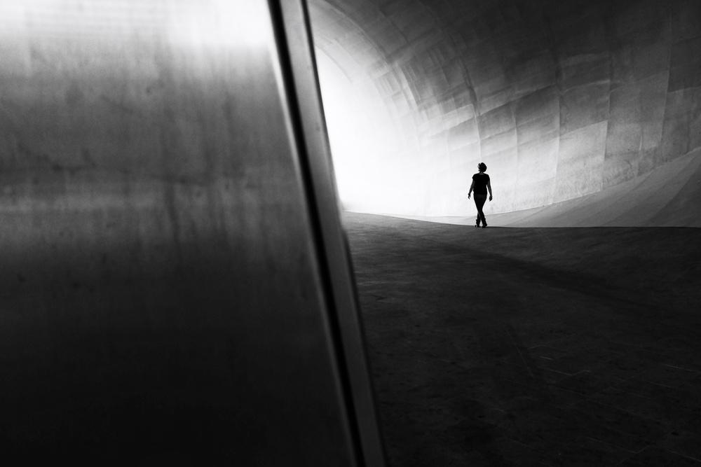 A piece of fine art art photography titled A Sunday Walk by Chris van Dolleweerd
