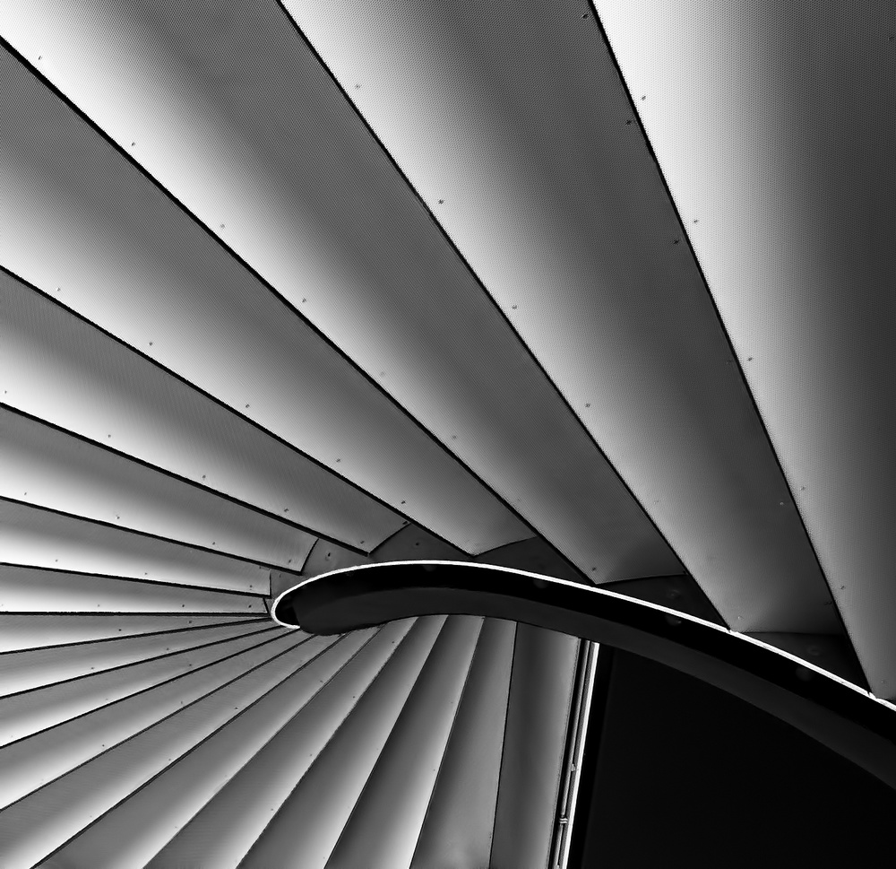 A piece of fine art art photography titled The Stairs by Serge Mion