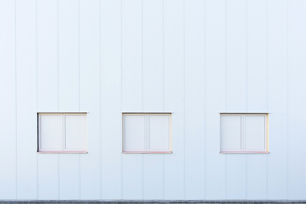 A piece of fine art art photography titled White House by Georges Forster