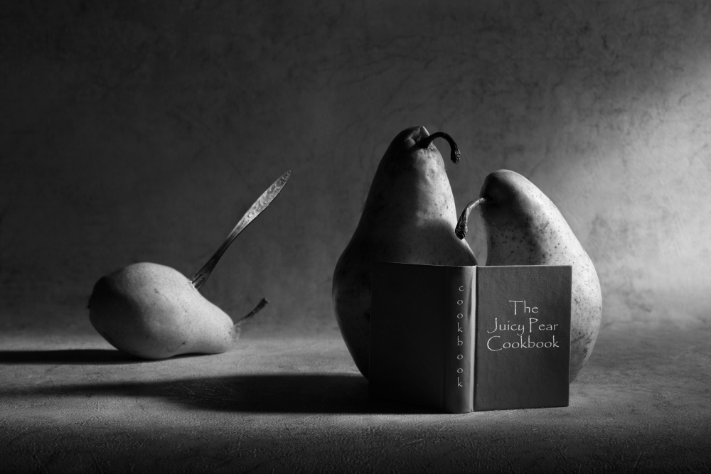 A piece of fine art art photography titled The Cookbook by Victoria Ivanova