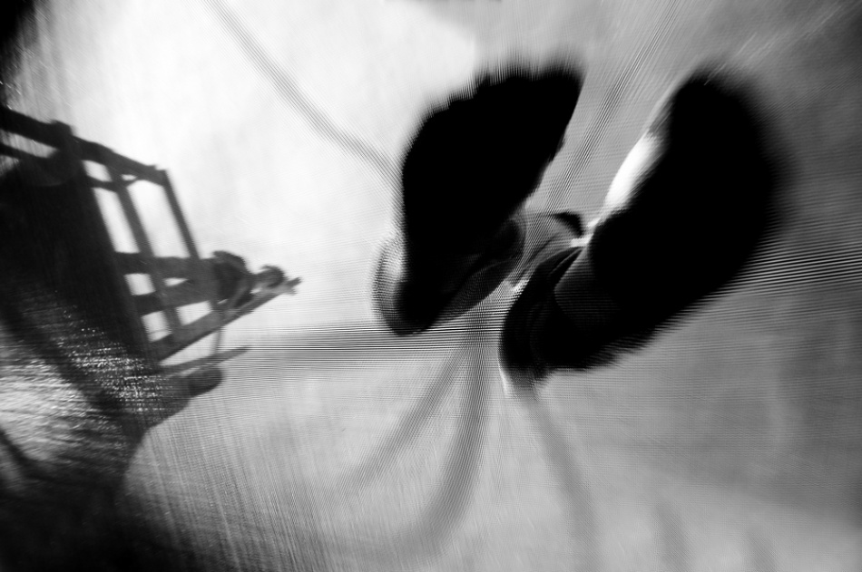 A piece of fine art art photography titled  Plattfuss by Barbara