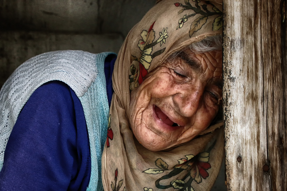 A piece of fine art art photography titled Last Farewell by Fadwa Rouhana