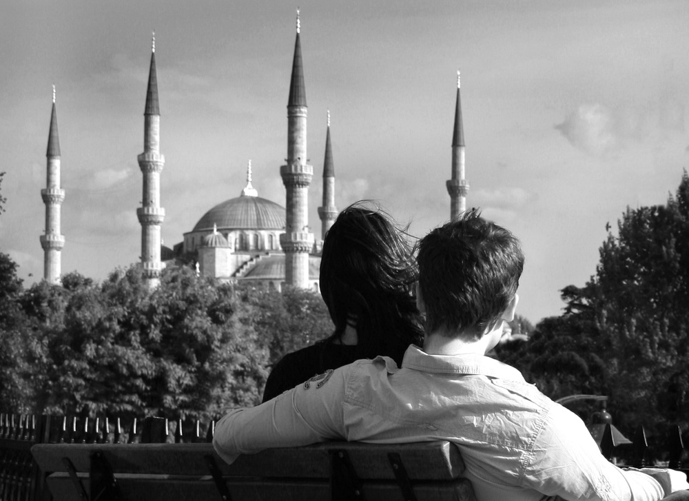 A piece of fine art art photography titled Love by ahmet orhan