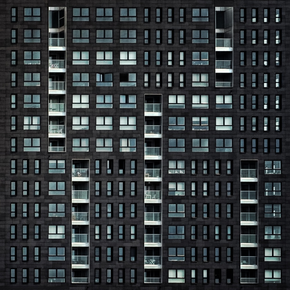 A piece of fine art art photography titled Living In the City by Piet Flour