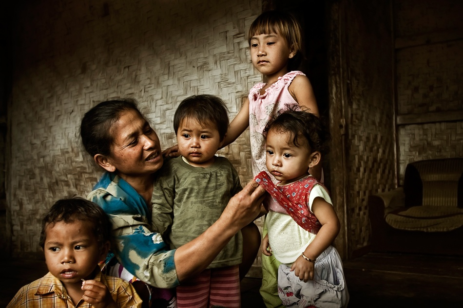 A piece of fine art art photography titled Save the Child by fredy wijaya