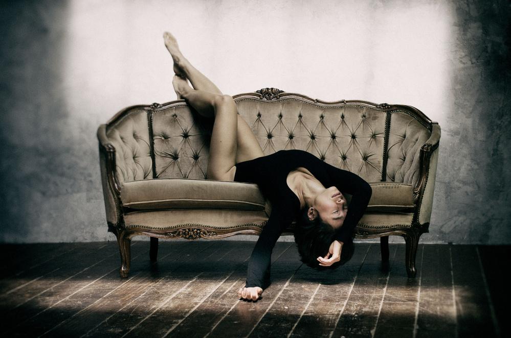 A piece of fine art art photography titled Fallen Angel by Marek Juras