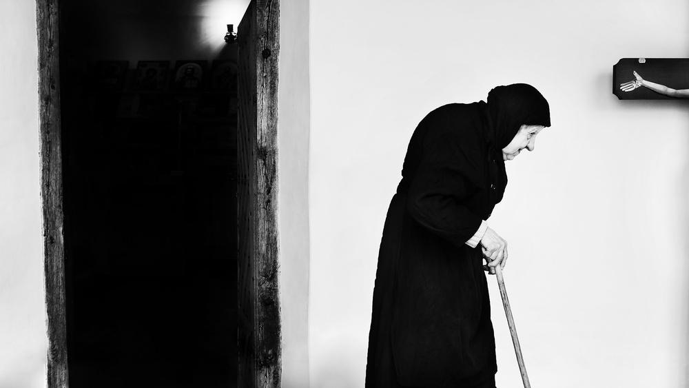 A piece of fine art art photography titled A Walk of Wisdom by Marius Cinteză