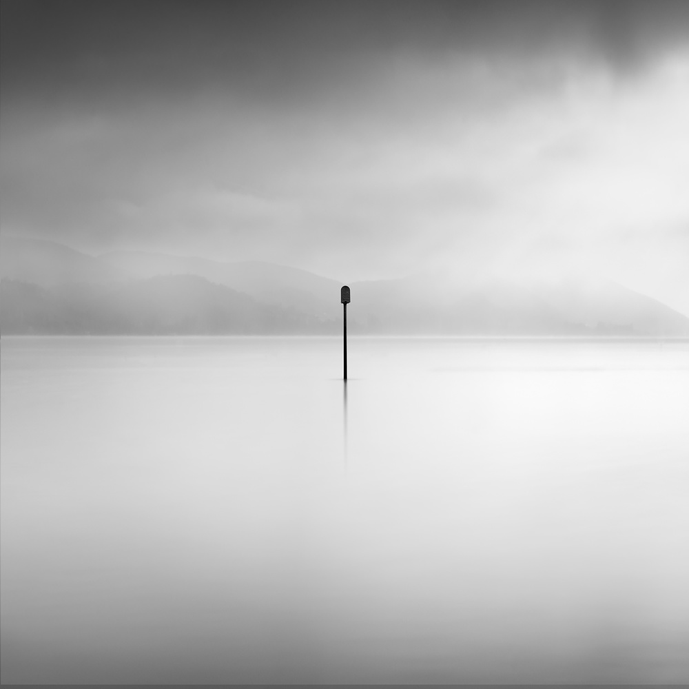 A piece of fine art art photography titled Whispering Lakes 003 by George Digalakis