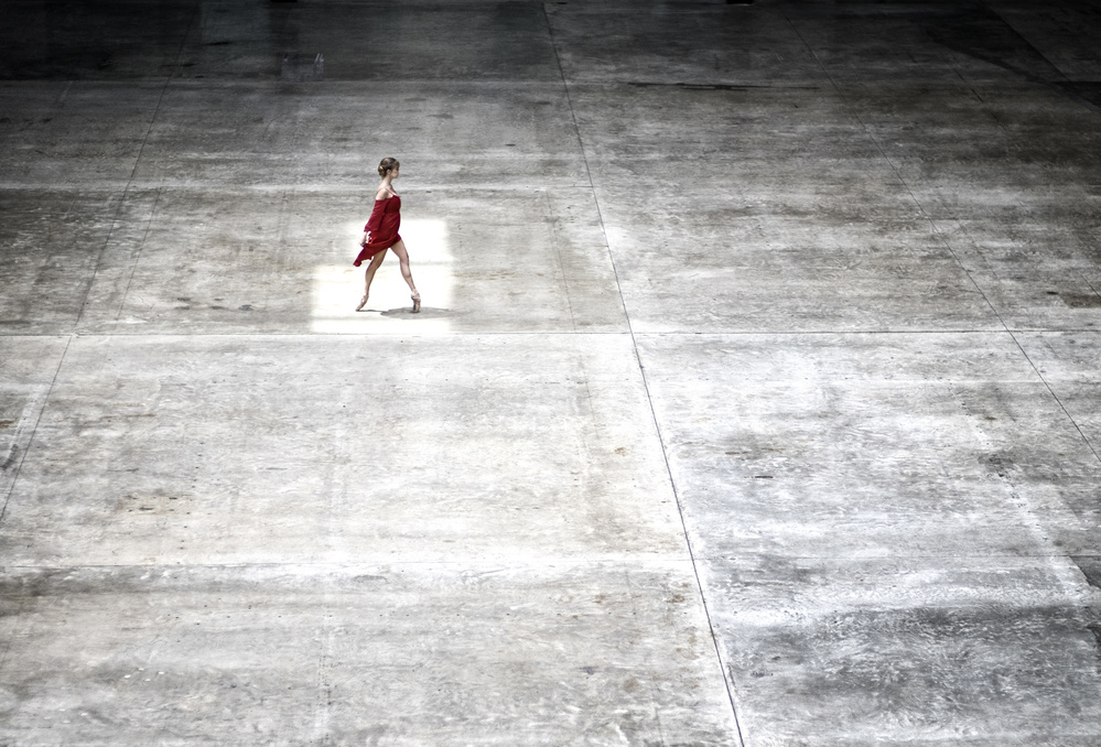 A piece of fine art art photography titled Dancer In Tate by Michael Groenewald