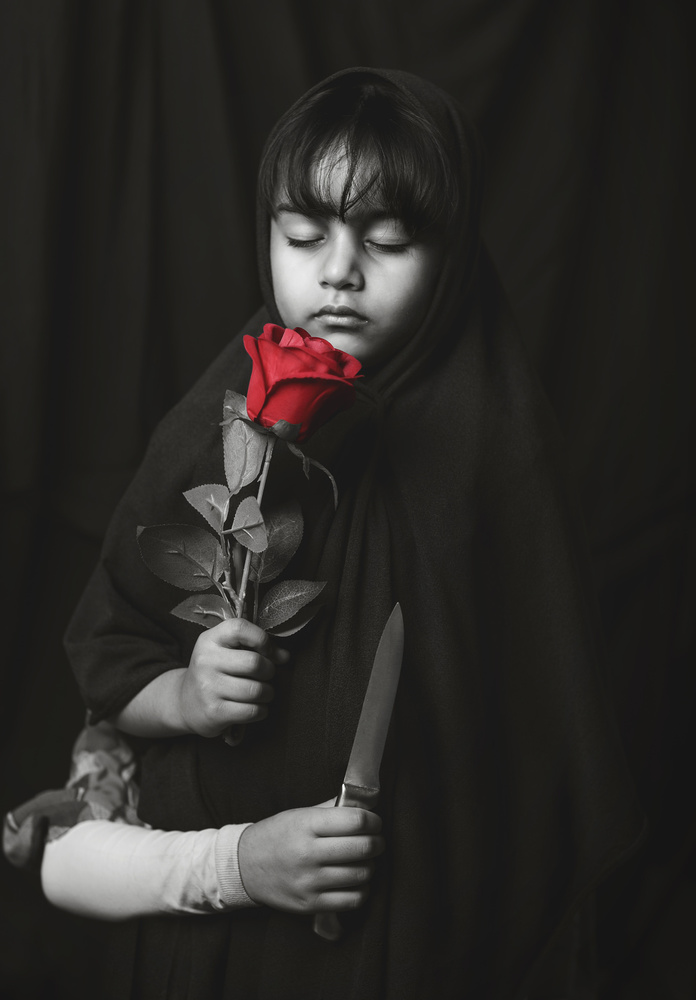 A piece of fine art art photography titled Wounded Dreams!! by Husain ALSaeed