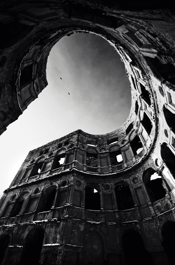A piece of fine art art photography titled Twist by Piotr Cichosz