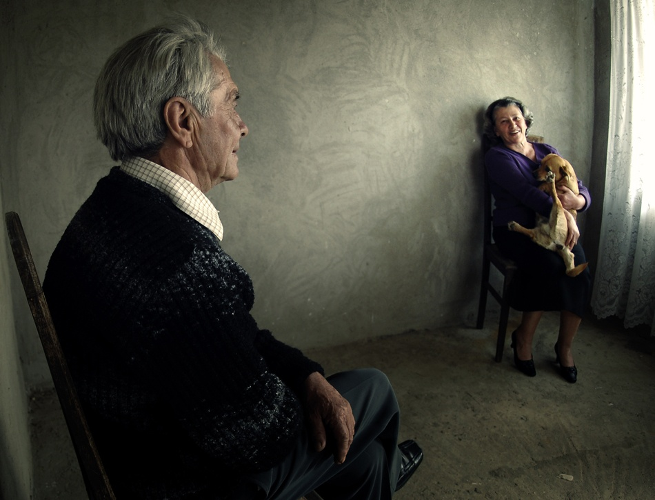 A piece of fine art art photography titled Family Portrait by Mihaela Gradinaru