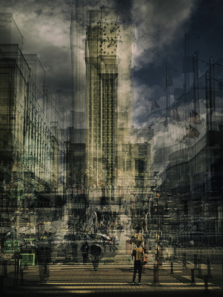 A piece of fine art art photography titled Tower by Thomas Vanoost