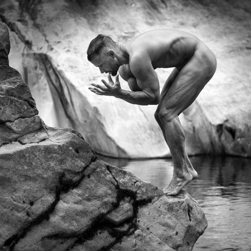 A piece of fine art art photography titled Hercules by Bruno Birkhofer