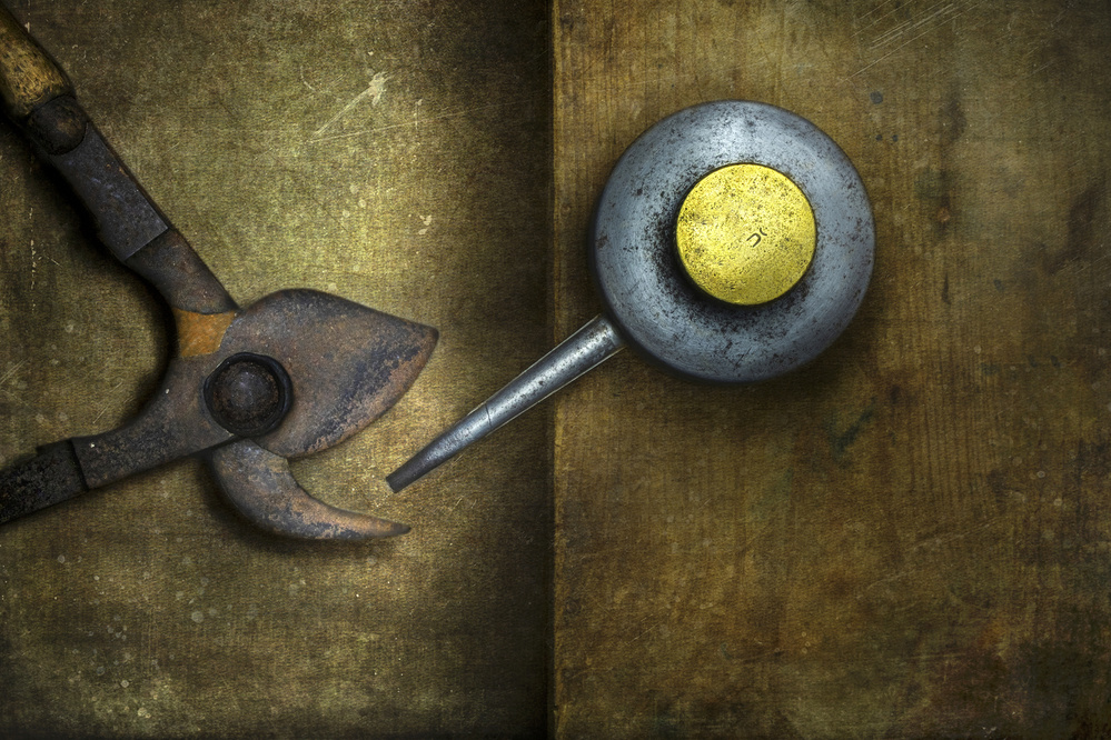 A piece of fine art art photography titled Oil Time by Christian MARCEL