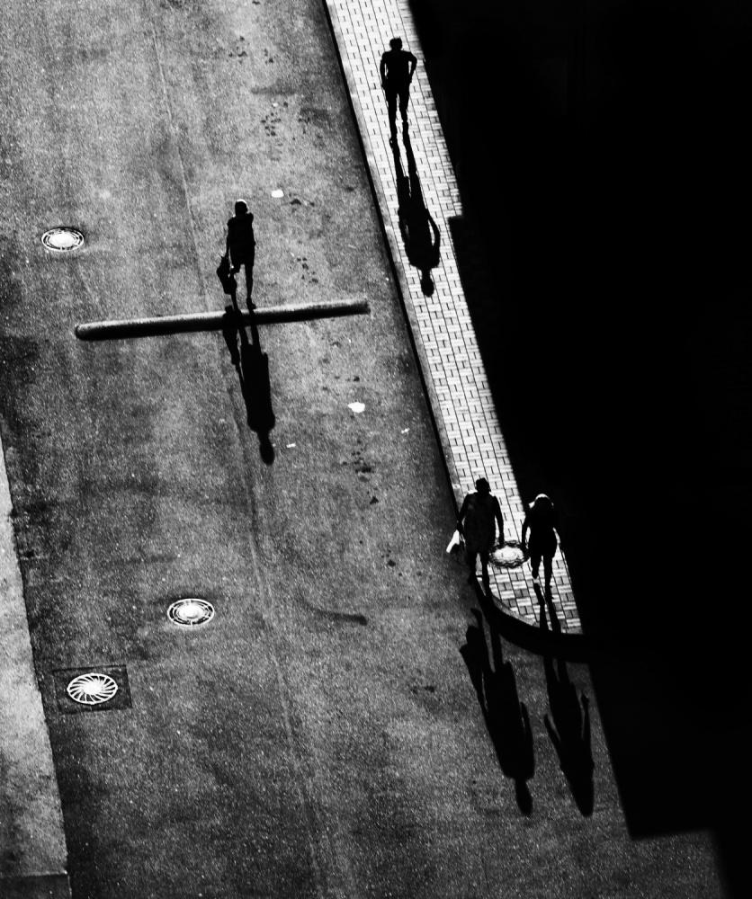 A piece of fine art art photography titled Shadows by Konstantin Tsokur