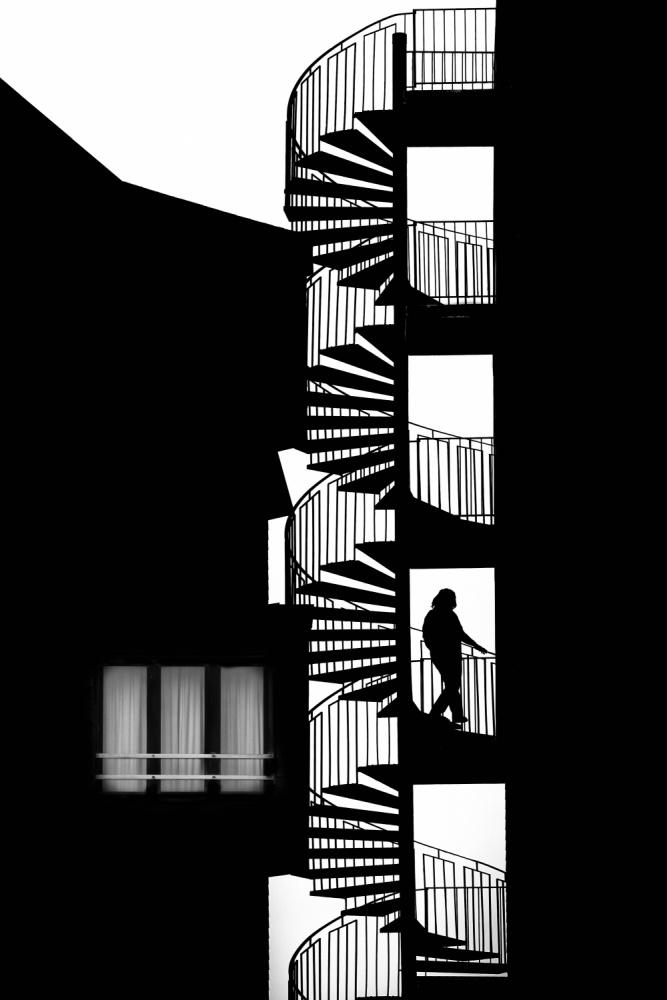 A piece of fine art art photography titled Silhouette by Massimo Della Latta