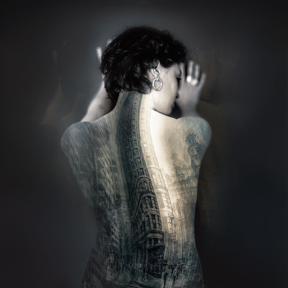 A piece of fine art art photography titled Back by Carla DLM