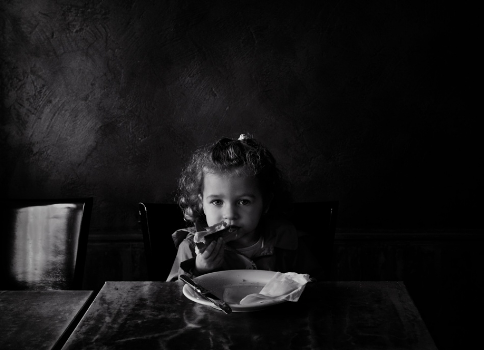 A piece of fine art art photography titled Nell a Faim by Andre du Plessis FRPS