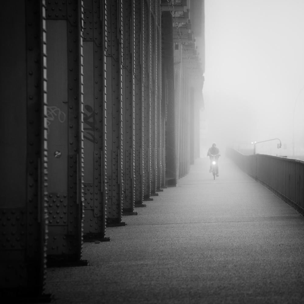 A piece of fine art art photography titled Urban Mood by Alexander Schönberg