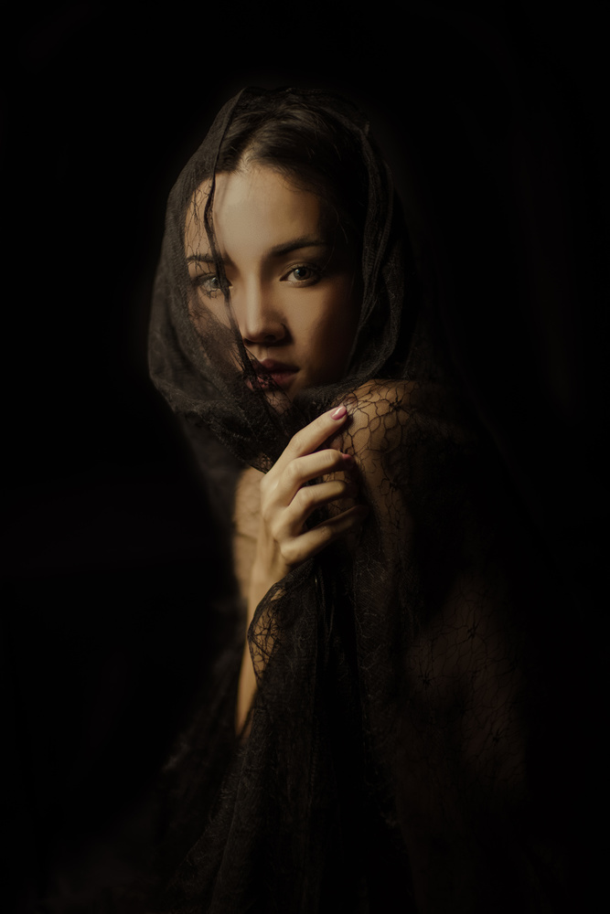 A piece of fine art art photography titled Madonna by Thanakorn Chai Telan