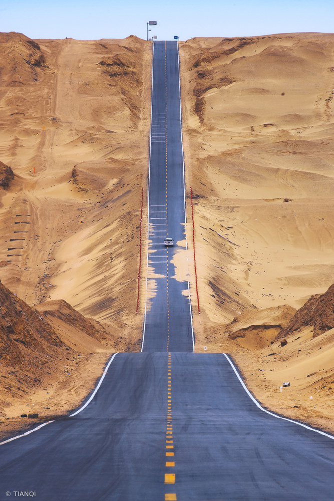 View this piece of fine art photography titled Heaven Road by Henk van Maastricht