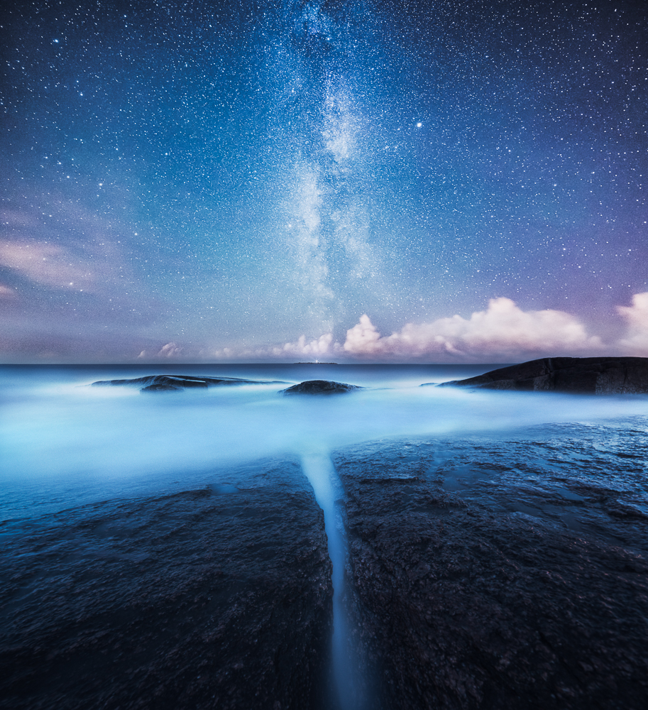 A piece of fine art art photography titled Divided by Mikko Lagerstedt