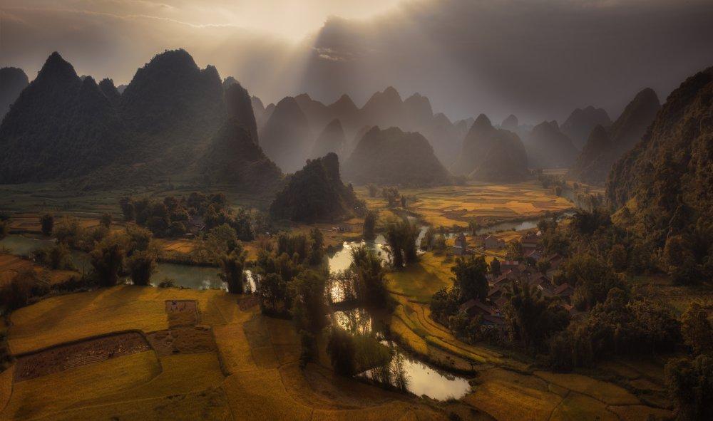 A piece of fine art art photography titled Vietnam Terraces by Siarhei Mikhaliuk *