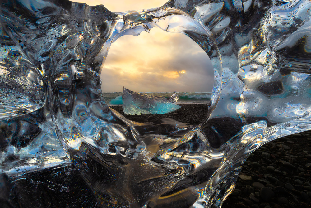 View this piece of fine art photography titled Diamonds by Larry Deng