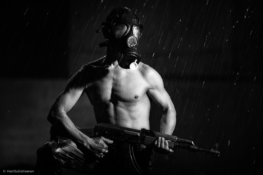 View this piece of fine art photography titled Winter Soldier by Hari Sulistiawan
