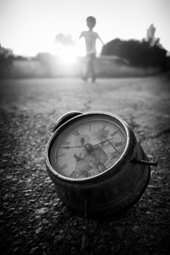 A piece of fine art art photography titled Time by Alexandros Dalkos