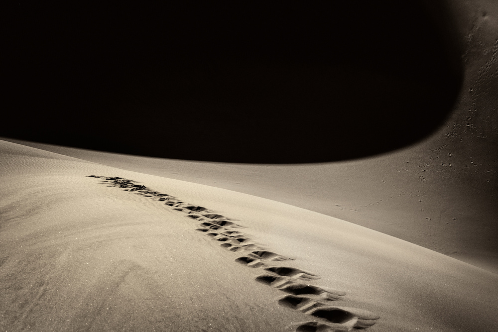 A piece of fine art art photography titled Steps by Jure Kravanja