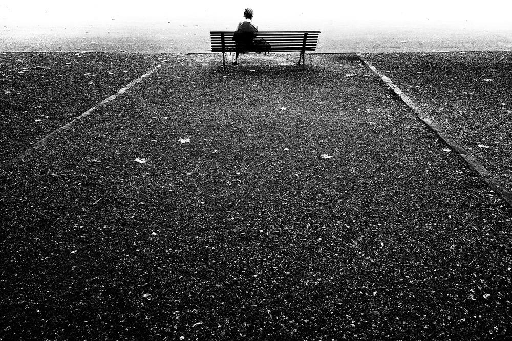 A piece of fine art art photography titled Bench by franco maffei