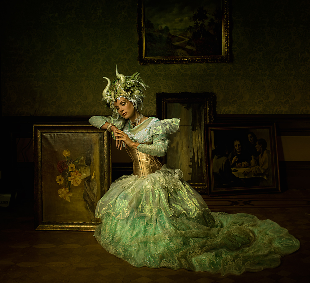 A piece of fine art art photography titled Sleep by Peter Kemp