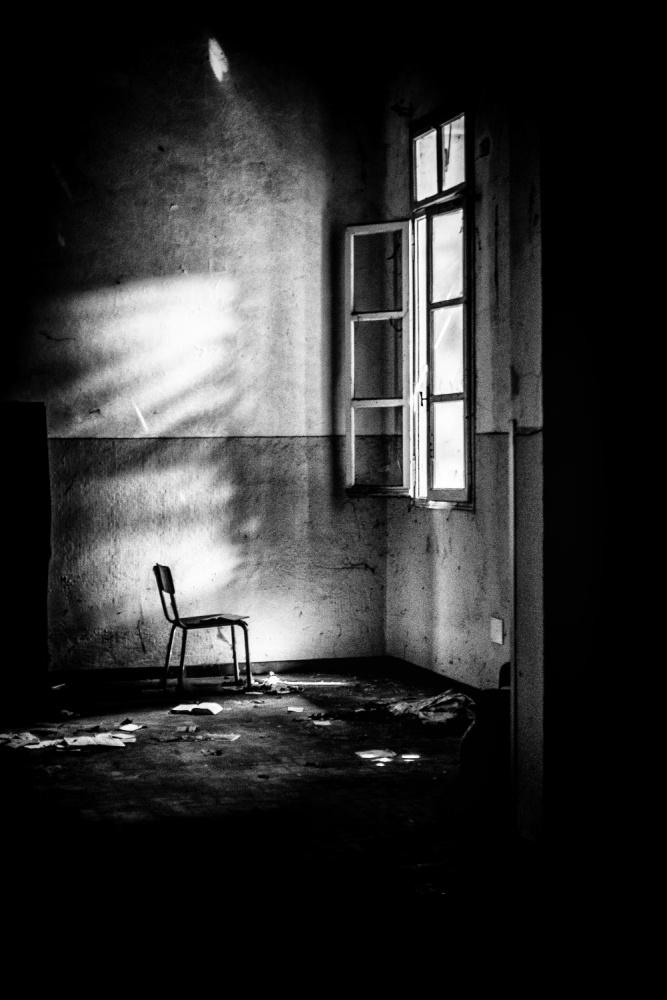 A piece of fine art art photography titled Speaks True, Who Speaks Shadows by Traven Milovich