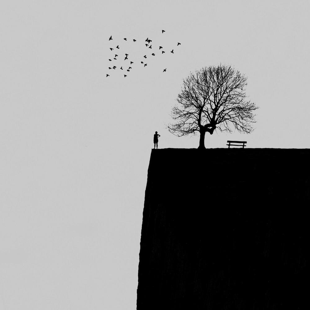 A piece of fine art art photography titled Goodbye Until Next Year by Hadi Malijani